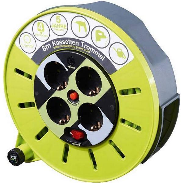 Masterplug CMG08164SL-PX 4-way 8m Cable Drum