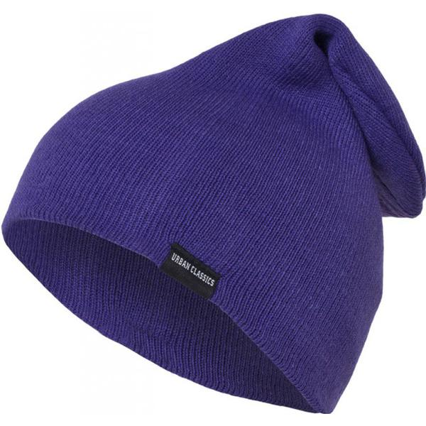 Urban Classics Long Beanie - Purple