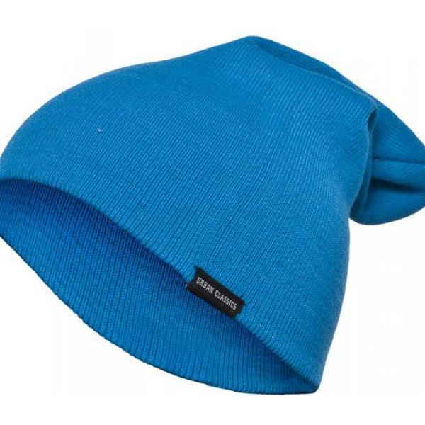 Urban Classics Long Beanie - Turquoise