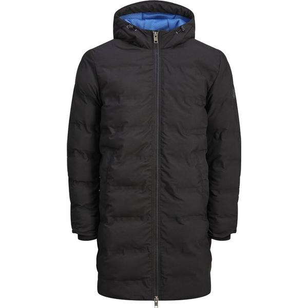 Jack & Jones Water Repellent Park Coat - Black/Black