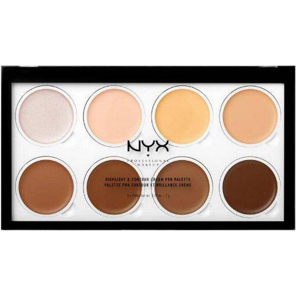 NYX Highlight & Contour Cream Pro Palette
