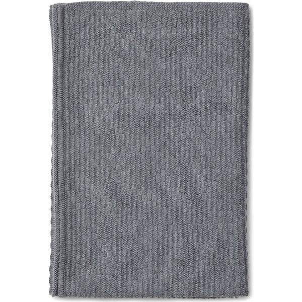 Liewood Klint Knit Blanket Grey Melange
