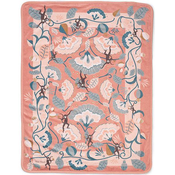 Elodie Details Pearl Velvet Blanket Midnight Bells