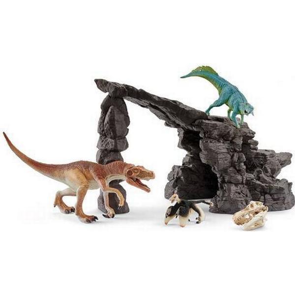 Schleich Dino Sæt med Hule 41461