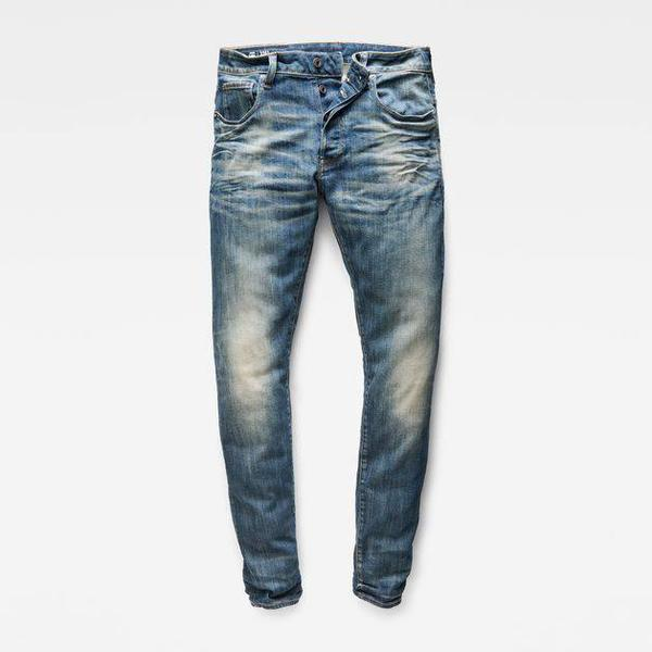 G-Star 3301 Slim Jeans - Dark Aged Antic