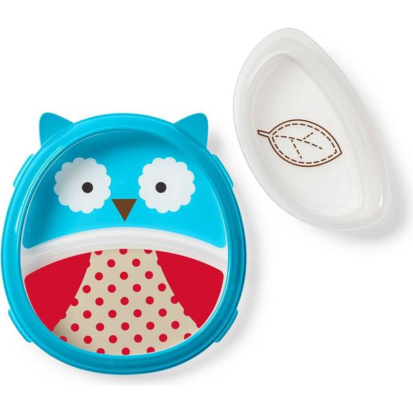 Skip Hop Zoo Smart Serve Plate & Bowl Owl