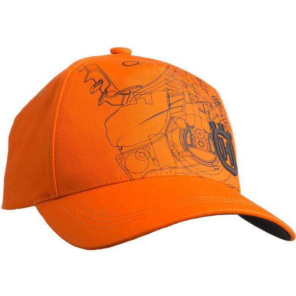 Husqvarna Xplorer Cap Pioneer - Saw Orange