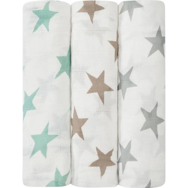 Aden + Anais Milky Way Silky Soft Swaddles 3-pack
