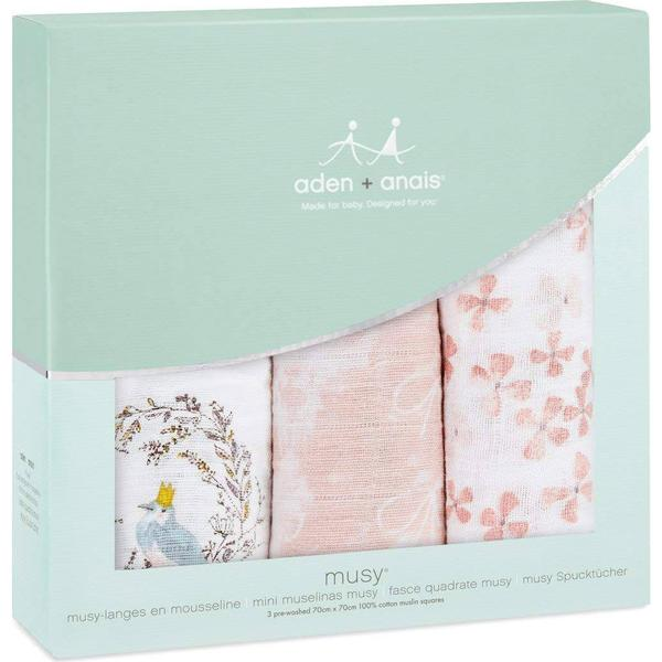 Aden + Anais Birdsong Musy Muslin Squares 3-pack