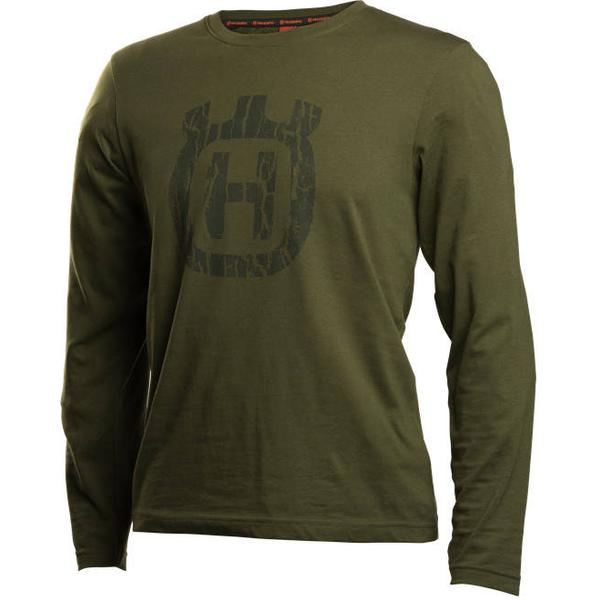 Husqvarna Xplorer T-shirt Long Sleeve Unisex - Bark Camo