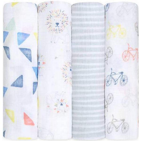 Aden + Anais Classic Swaddles Leader of the Pack 4-pack