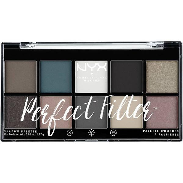 NYX Perfect Filter Shadow Palette Gloomy Days