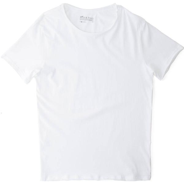 Bread and Boxers Crew-Neck Relaxed T-shirt - White