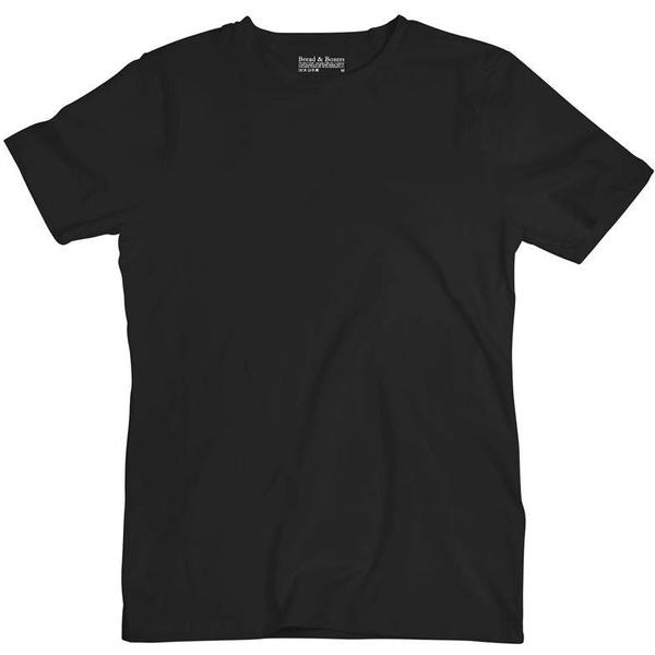 Bread and Boxers Crew-Neck T-shirt - Black