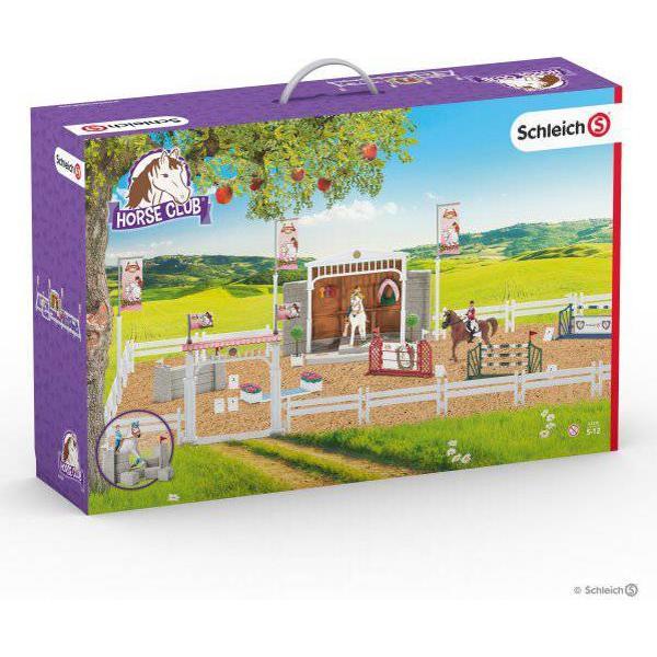 Schleich Stort Hestestævne med Heste 42338