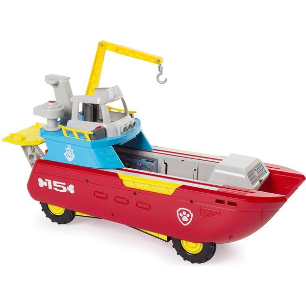 Spin Master Paw Patrol Sea Patrol Sea Patroller Transforming Vehicle