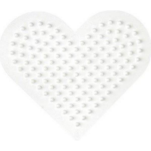 Hama Midi Beads Pegboard Small Heart 236