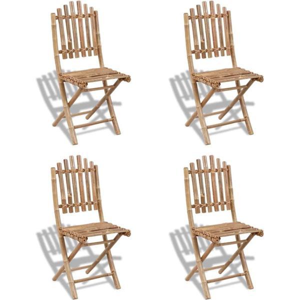 vidaXL 271715 4-pack Armless Chair