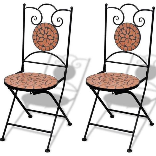 vidaXL 41529 2-pack Armless Chair