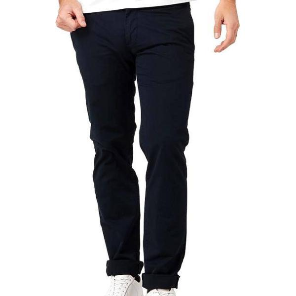 Boomerang Steve Cotton Satin Chino - Midnight Blue