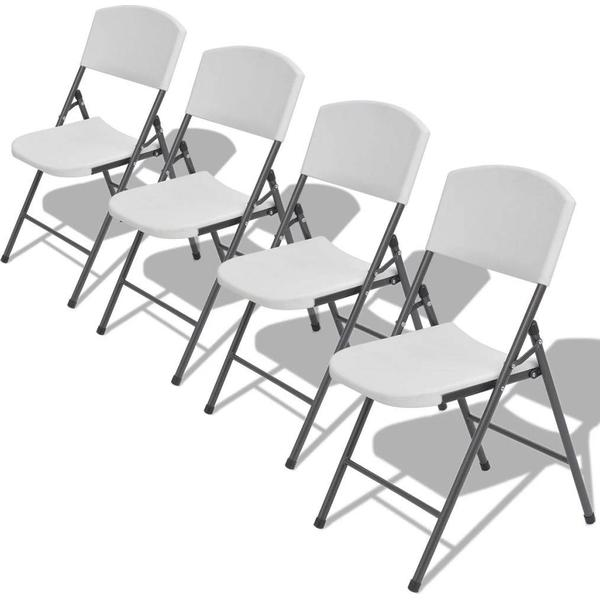 vidaXL 42458 4-pack Armless Chair