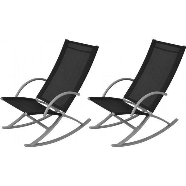 vidaXL 42163 2-pack Rocking Chair