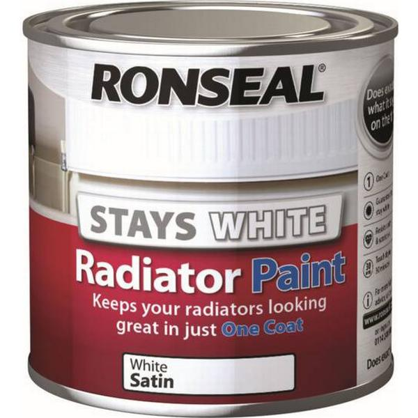 Ronseal One Coat Radiator Paint White 0.25L