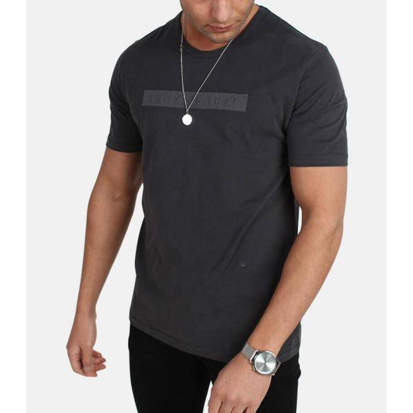 Junk de Luxe Laren T-shirt - Black/Pirate Black
