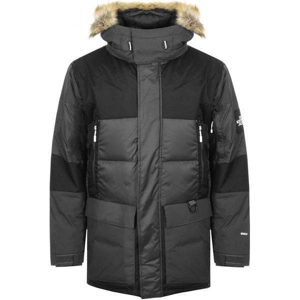 The North Face V-Stok Parka - Asphalt Grey/TNF Black
