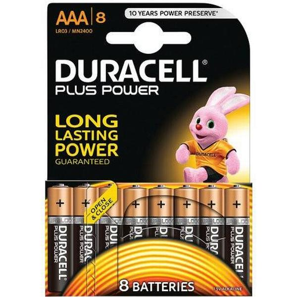 Duracell AAA Plus Power Compatible 8-pack