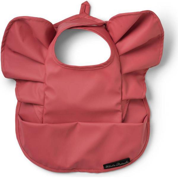 Elodie Details Baby Bib Winter Blush Red