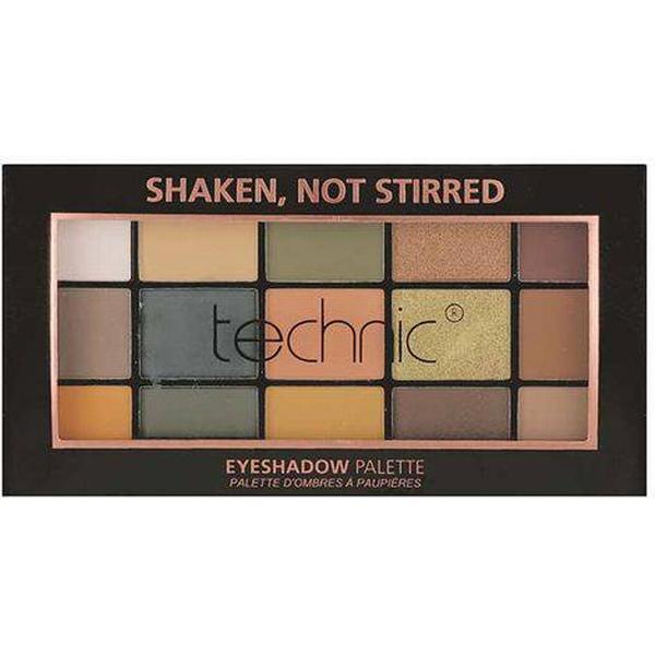 Technic X 15 Eyeshadow Palette Shaken Not Stirred