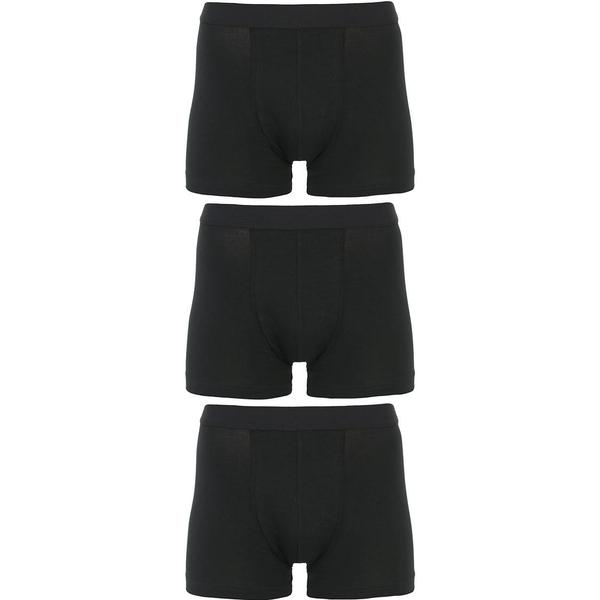 Bread and Boxers Boxer Brief 3-pack - Black