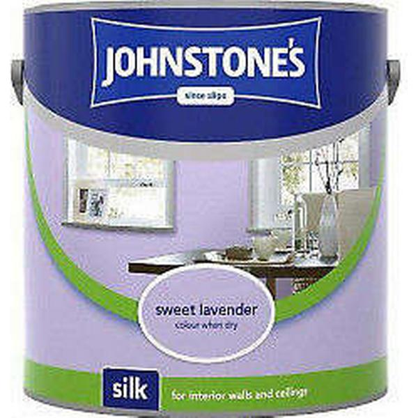 Johnstones Silk Wall Paint, Ceiling Paint Purple 2.5L