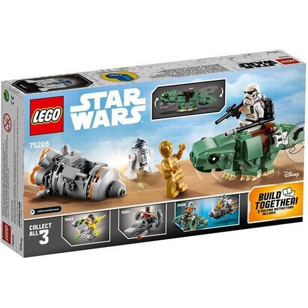 Lego Star Wars Escape Pod vs Dewback Microfighters 75228