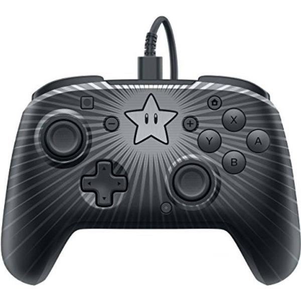 PDP Nintendo Switch Faceoff Wired Pro Controller - Star Mario