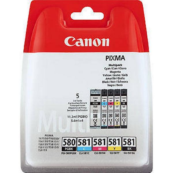 Canon (2078C005) Original Ink Black, Multicolour 45.2 ml 200 Pages