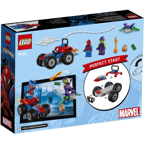 Lego Marvel Super Heroes Spider Man Car Chase 76133 Compare Prices