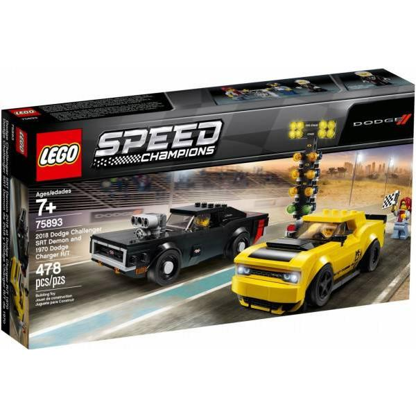 Lego Speed Champions 2018 Dodge Challenger 75893