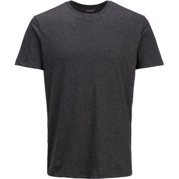 Jack & Jones Organic Basic T-shirt - Grey/Dark Grey Melange
