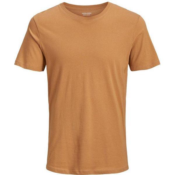 Jack & Jones Organic Basic T-shirt - Brown/Tobacco Brown