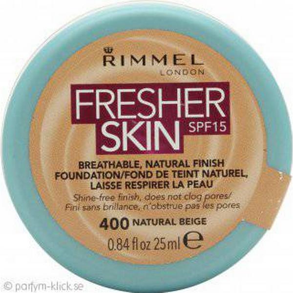 Rimmel Fresher Skin Foundation SPF15 #400 Natural Beige