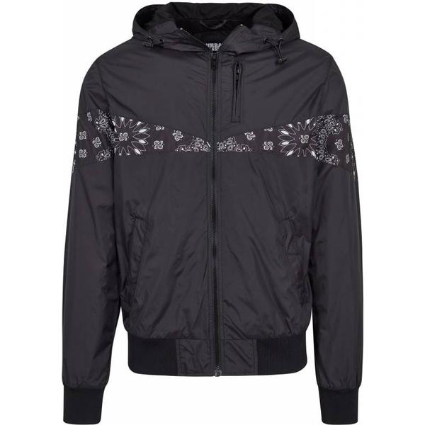 Urban Classics Advanced Arrow Windrunner - Blk/Blk/Blackbandana