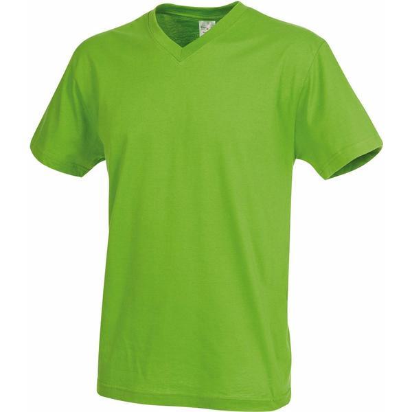 Stedman Classic V-Neck T-shirt - Kiwi Green
