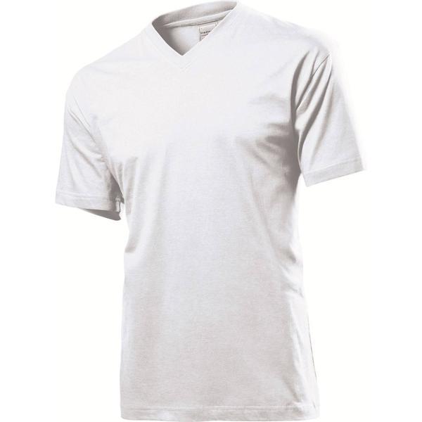 Stedman Classic V-Neck T-shirt - White