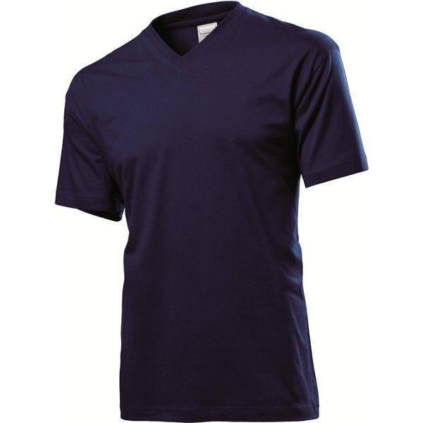 Stedman Classic V-Neck T-shirt - Blue Midnight