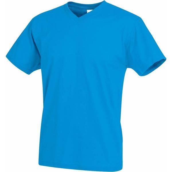 Stedman Classic V-Neck T-shirt - Ocean Blue