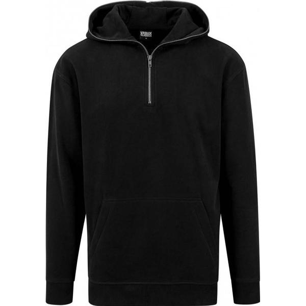 Urban Classics Sweat Troyer Hoody - Black