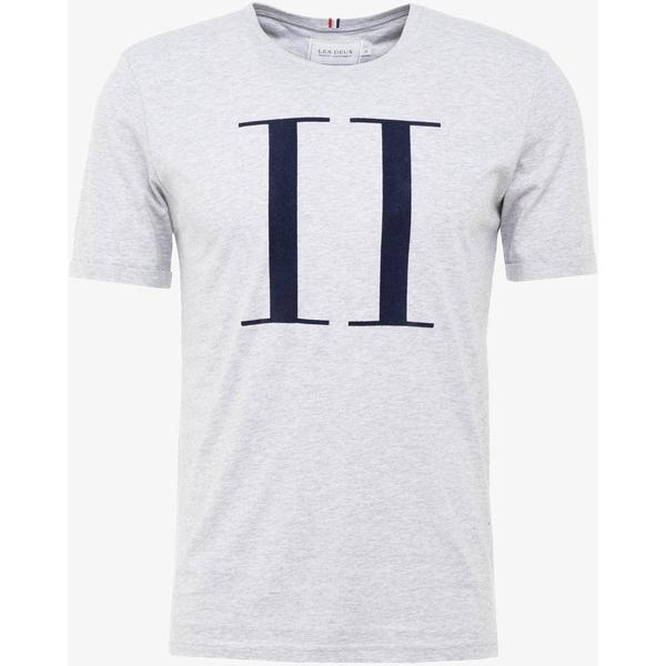 Les Deux Encore T-shirt - Snow Mel./Navy