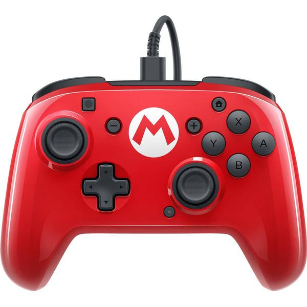 PDP Nintendo Switch Faceoff Wired Pro Controller - Mario